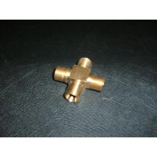 Brass 4 Way Fuel Union - SU Cars