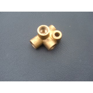 Four Way & Three Way Brake Union & Other Brass Brake Fittings
