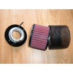 Air Cleaner Or Air Filter Trumpet Kits For DB2 Vantage To DB MkIII